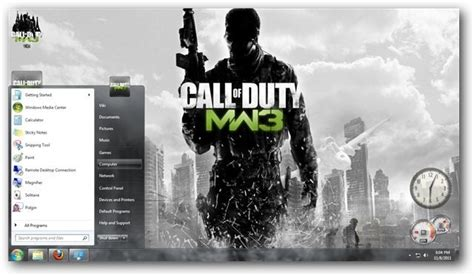 download theme windows 7 call of duty modern warfare 3 windows 7 themes call of duty modern warfare 3