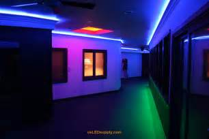 rgb led beleuchtung hallway accent lighting