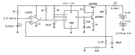 Dca 12v 1 5ah Baterai Lithium Ion battery charger circuit page 5 power supply circuits