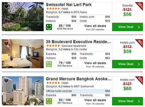 hotels best price yes thailand is still a great travel value