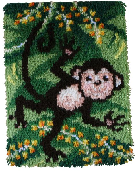 large latch hook rug kits caron wonderart latch hook rug kit swingin crafts rug minerva crafts