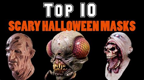 best scary top 10 scary masks
