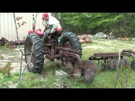 fast hitch and go with a farmall super c | how to make