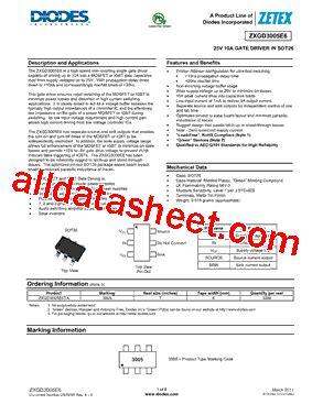 diodes inc ta suffix zxgd3005e6ta datasheet pdf diodes incorporated