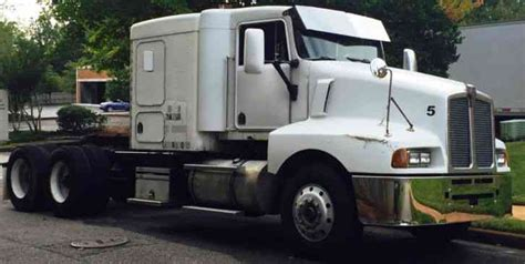 kenwood t600 kenworth t600 1990 sleeper semi trucks