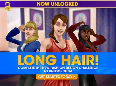 sims freeplay with long hair newhairstylesformen2014 com