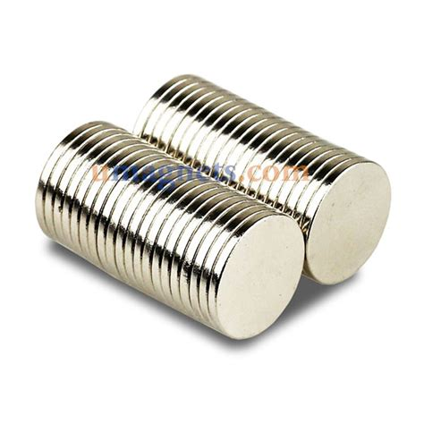 magnet 15 mm 15mm x 1 5mm n42 strong disc fridge earth