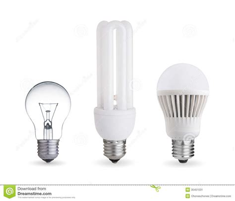 how is a light bulb different from a resistor different light bulbs stock image image 35451531