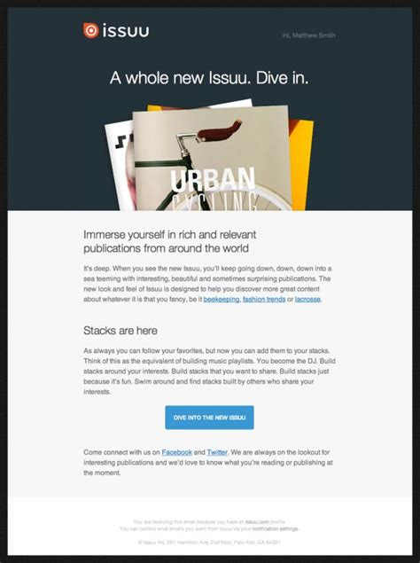 17 best images about beautiful email newsletters