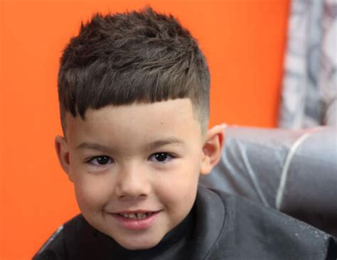 Hairstyles For Boys With Bangs by 31 Cutest Boys Haircuts For 2018 Fades Pomps Lines More