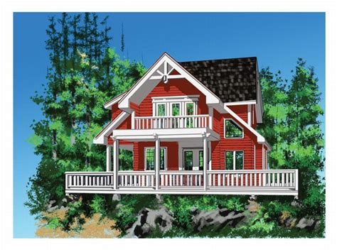 small vacation home plan home design and style