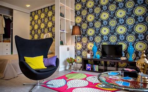 colorful wallpaper for rooms modern wallpaper patterns and room colors for interior