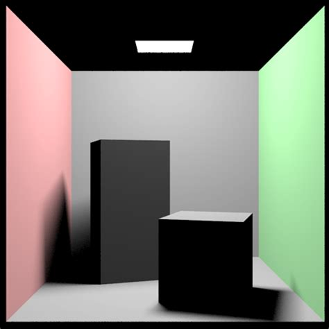 Direct Lighting Cornell Box Direct Lighting Only Liar Isn T A Raytracer