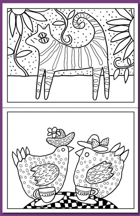 coloring pages folk art mexican folk art coloring pages coloring home