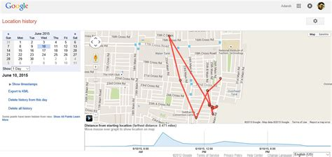 maps timeline maps now allows you to stalk yourself using maps timeline fossbytes