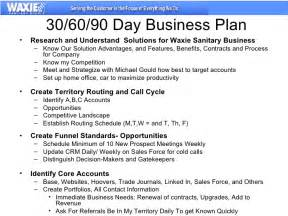sales manager business plan template 30 60 90 business plan