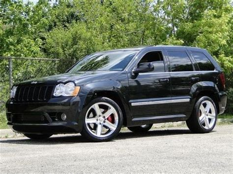 jeep srt 2009 buy used 2009 jeep grand srt 8 in inwood