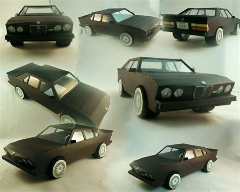 Bmw Papercraft - bmw m5 paper model by bonnibabe on deviantart