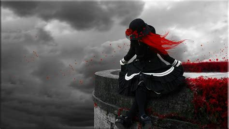 wallpaper abyss gothic gothic redhead full hd wallpaper and background image