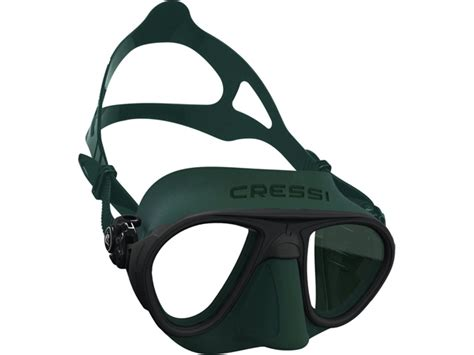 Paket Green Gas mask cressi calibro matte green ds429850 alatselam