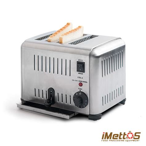 Bread Pop Up Toaster Imettos 4 Slice Bread Pop Up Toaster Commercial Quality