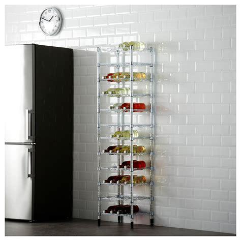 bierkisten regal omar bottle shelf 46x36x181 cm ikea