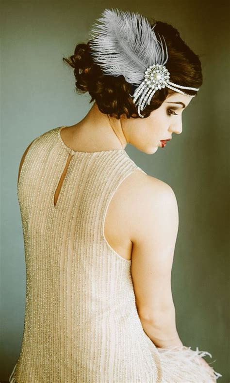 how to make a 1920s hairpiece flapper headband headpiece bridal hairpiece the great
