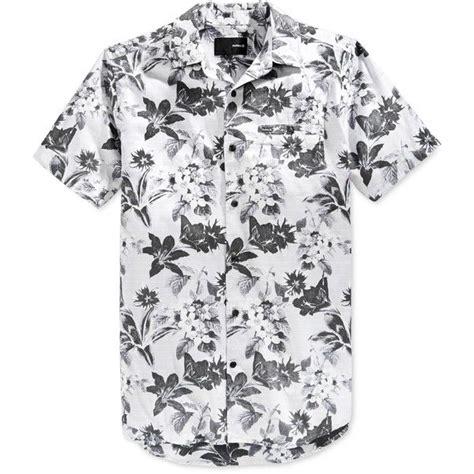 Hurley Aloha White Original hurley s meadowlark floral print sleeve shirt