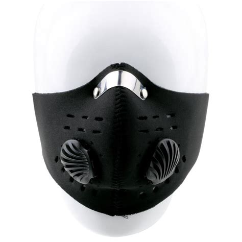 Motorcycle Ski Half Mask Masker Motor Black Murah masker motor filter anti polusi black jakartanotebook