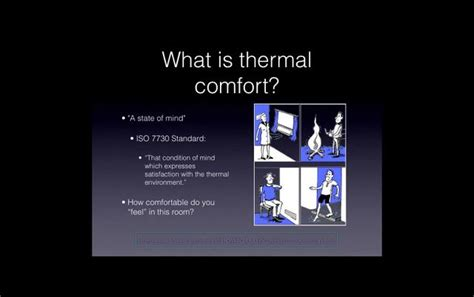 what is thermal comfort thermal comfort on vimeo