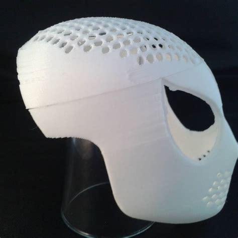 printable venom mask 3d printable spiderman venom faceshell mask by martin