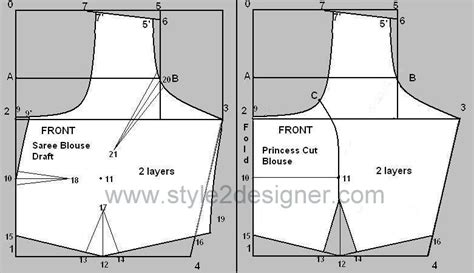 pattern making meaning in tamil types of princess cut blouse with waistband style2designer