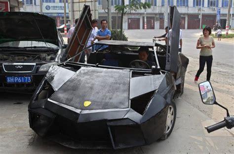 China Lamborghini Mechanic Builds Lamborghini Replica For 9 500