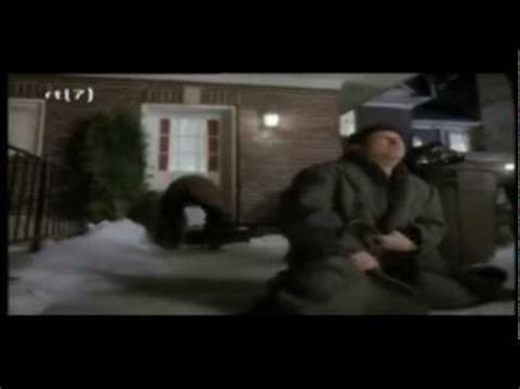 house gets shot home alone harry and marv get shot by kevin crazy version youtube