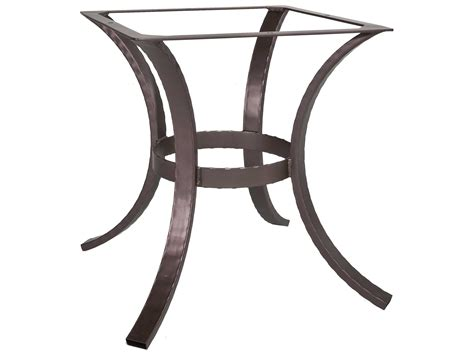 ow hammered wrought iron 03 dining table base hi dt03