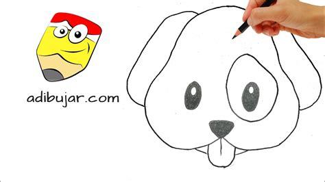 imagenes para dibujar a lapiz de animales faciles c 243 mo dibujar un perro emoji de whatsapp a l 225 piz dibujos
