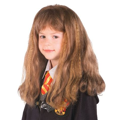 Hermione Granger Harry Potter 1 by Harry Potter Hermione Granger Child Costume Wig