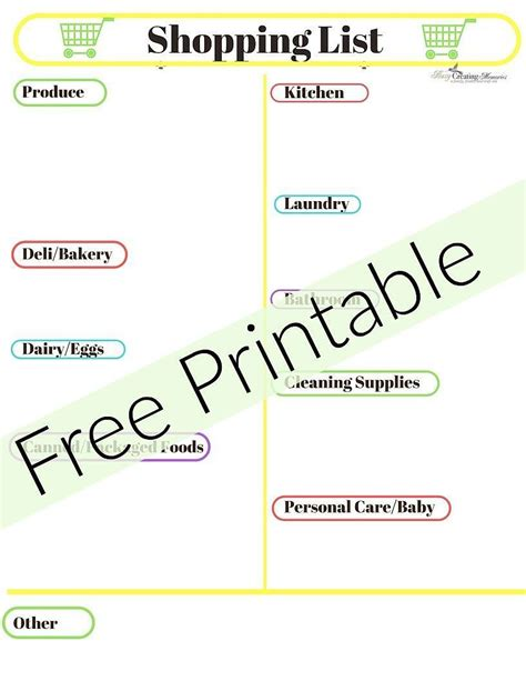 household essentials list household essentials list interesting printable first