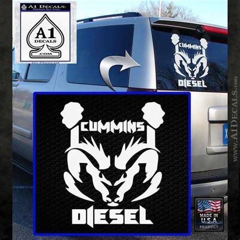 dodge cummins stickers cummins diesel decal sticker rt4 187 a1 decals