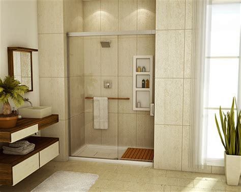 pin shower alcove on