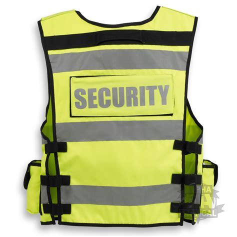 security vest tactical security duty patrol vest hi viz yellow sia industry door staff ebay