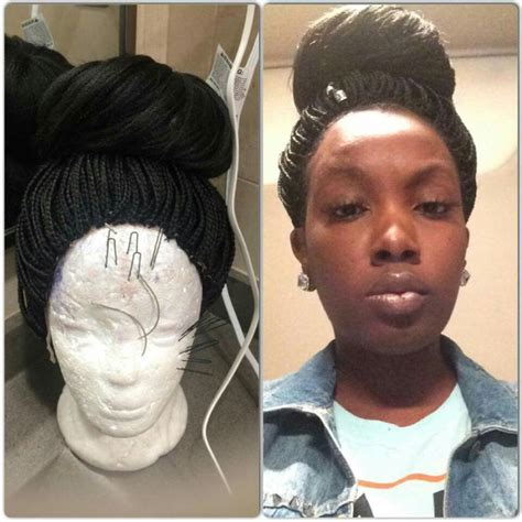 more stylists sharing photos of braid and weave work on braided wig fb nyema jackson stylist weave wigs and