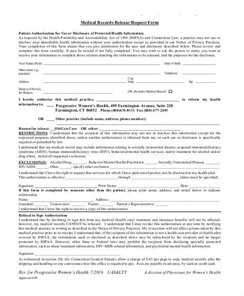 Florida Records Request Form 33 Release Forms In Pdf