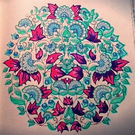 secret garden coloring book tips johanna bashford purple and mint colouring with derwent