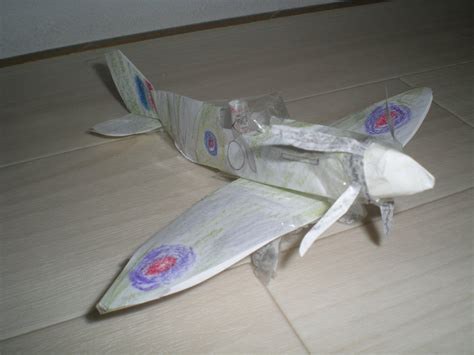 How To Make A Paper Spitfire - paper spitfire by icepetrov95 on deviantart