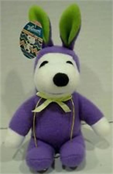 Dress Snoopy Purple peanuts ufs inc snoopy easter in purple bunny rabbit costume 9 quot plush doll