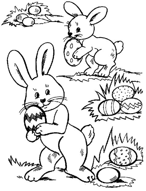 coloring pages easter egg hunt easter coloring pages easter egg hunt coloring pages