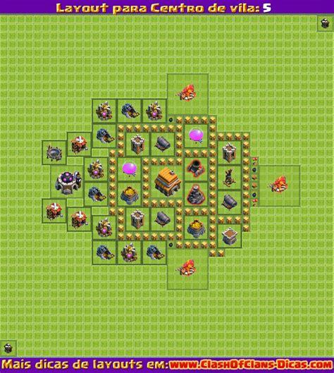 Layout Cv Nv 5 | melhores layouts para centro de vila 5 clash of clans