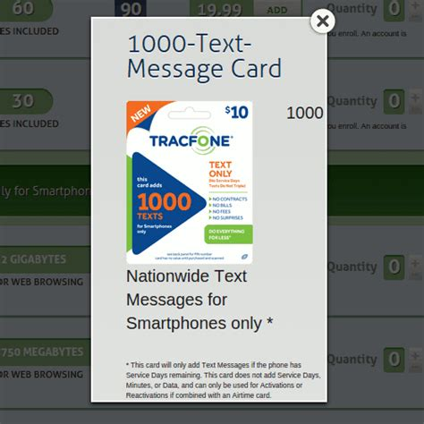 Tracfone Gift Card - tracfone now offering 10 text messaging cards for android phones and byop prepaid