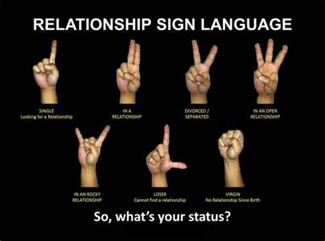 Relationship Meme Quotes - sign language quotes quotesgram